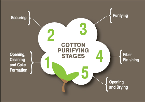 The Journey Of Cotton Purification Barnhardt Purified Cotton